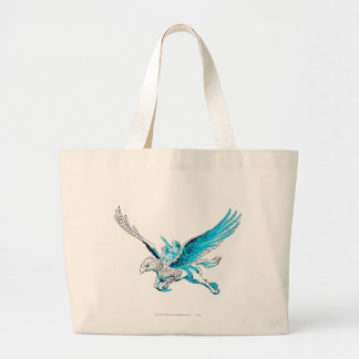 Harry and Hermione on a Hippogriff Large Tote Bag