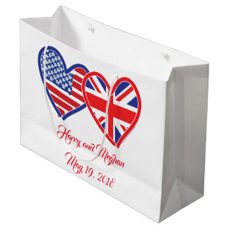 Harry and Meghan Large Gift Bag