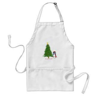 Harry Decorates his Christmas Tree Aprons