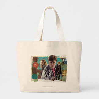 Harry, Hermione, and Ron 1 Canvas Bag