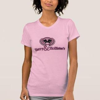 Harry & Hollister's Logo T - Pink T-Shirt