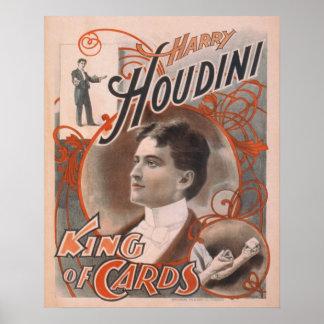 Harry HOUDINI Escape Artist Magician Poster Print