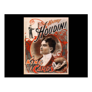 Harry Houdini King Of Cards