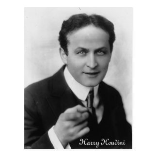 Harry Houdini Postcard