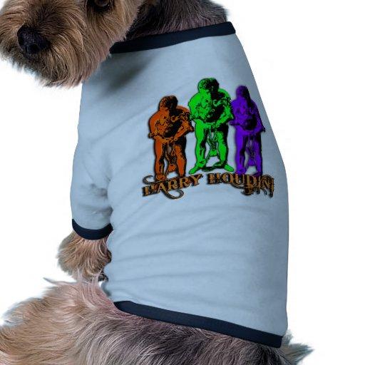 Harry Houdini Triple Image Doggie Shirt