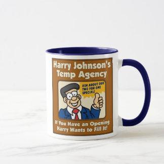 Harry Johnson's Temp Agency Mug