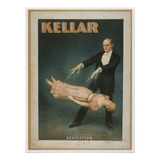 Harry Kellar Levitation Poster