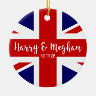 Harry & Meghan | Royal Wedding Commemoration Ceramic Ornament