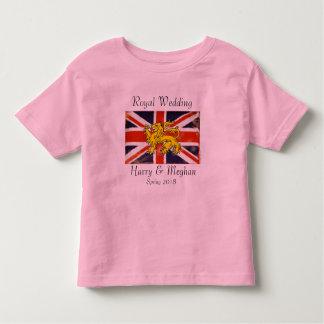 Harry & Meghan Royal Wedding Kid's T-Shirt