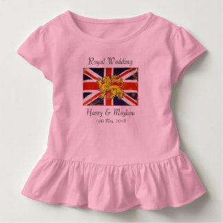 Harry & Meghan Royal Wedding Kids Toddler T-Shirt