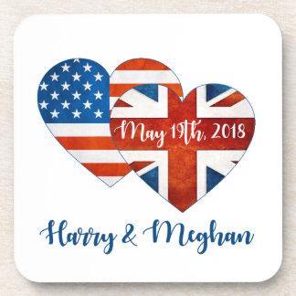 Harry & Meghan Wedding, May 19th 2018 Coaster
