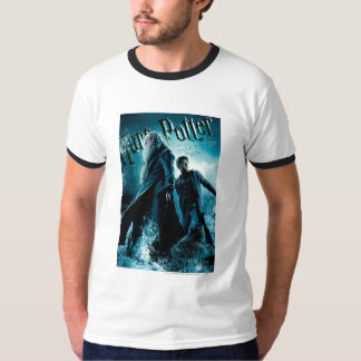 Harry Potter and Dumbledore on rocks 1 Tee Shirts