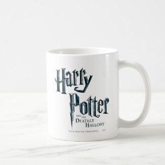 Harry Potter and the Deathly Hallows Logo 3 Basic White Mug