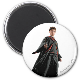 Harry Potter At The Ready 6 Cm Round Magnet