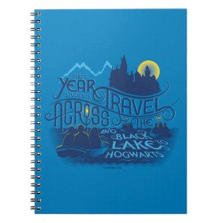 Harry Potter | Black Lake To Hogwarts Notebook