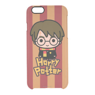 Harry Potter Cartoon Character Art Clear iPhone 6/6S Case