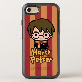 Harry Potter Cartoon Character Art OtterBox Symmetry iPhone 7 Case