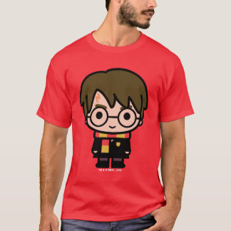 Harry Potter Cartoon Character Art T-Shirt