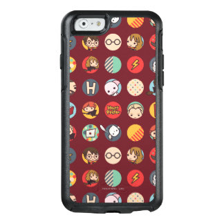 Harry Potter Cartoon Icons Pattern OtterBox iPhone 6/6s Case