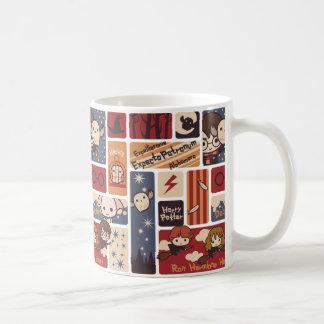 Harry Potter Cartoon Scenes Pattern Coffee Mug