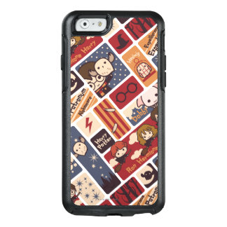 Harry Potter Cartoon Scenes Pattern OtterBox iPhone 6/6s Case