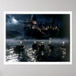 Harry Potter Castle   Arrival at Hogwarts Poster