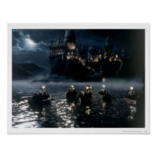 Harry Potter Castle | Arrival at Hogwarts Poster