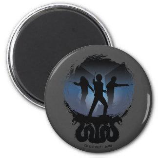 Harry Potter | Chamber of Secrets Silhouette Magnet