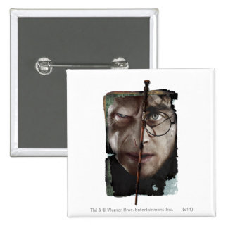 Harry Potter Collage 10 15 Cm Square Badge