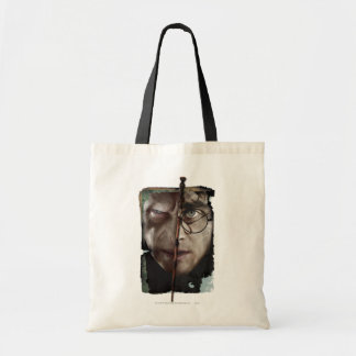Harry Potter Collage 10 Budget Tote Bag