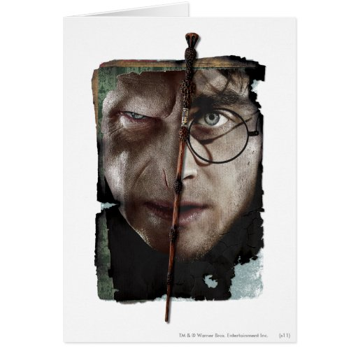 Harry Potter Collage 10 Greeting Card
