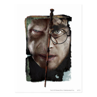 Harry Potter Collage 10 Postcard