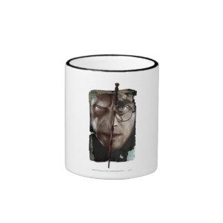 Harry Potter Collage 10 Ringer Mug