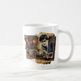 Harry Potter Collage 7 Basic White Mug