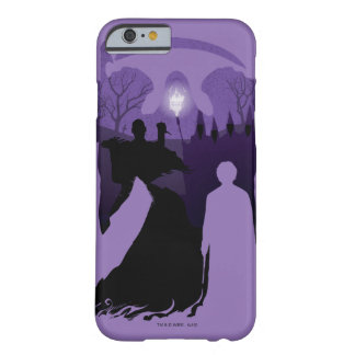 Harry Potter | Death Silhouette Barely There iPhone 6 Case