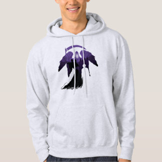 Harry Potter   Death Silhouette Hoodie