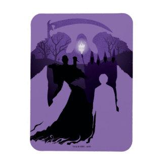 Harry Potter | Death Silhouette Magnet