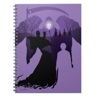 Harry Potter | Death Silhouette Notebooks