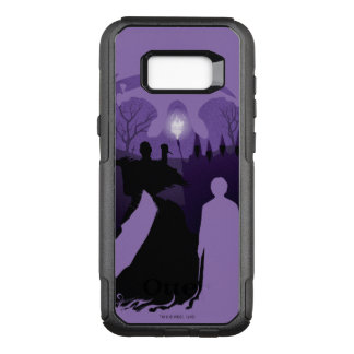 Harry Potter | Death Silhouette OtterBox Commuter Samsung Galaxy S8+ Case