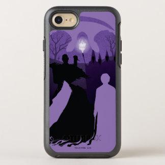 Harry Potter   Death Silhouette OtterBox Symmetry iPhone 8/7 Case