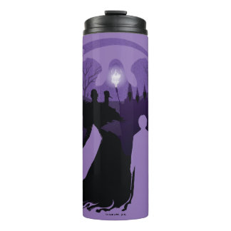 Harry Potter | Death Silhouette Thermal Tumbler