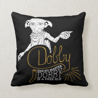 Harry Potter | Dobby Has No Master Cushion