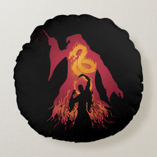 Harry Potter | Dumbledore Silhouette Round Cushion