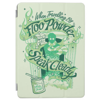 Harry Potter | Floo Powder Typography Graphic iPad Air Cover