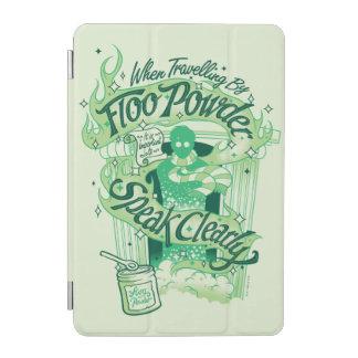 Harry Potter | Floo Powder Typography Graphic iPad Mini Cover
