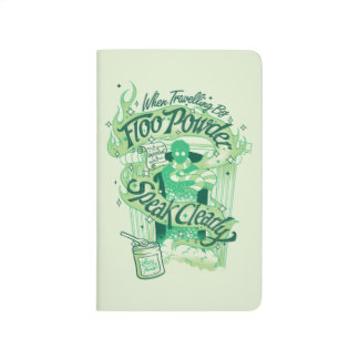 Harry Potter | Floo Powder Typography Graphic Journal