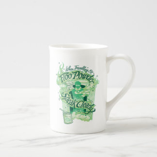 Harry Potter | Floo Powder Typography Graphic Tea Cup