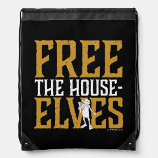 Harry Potter | Free The House Elves Drawstring Bag