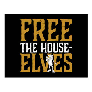 Harry Potter | Free The House Elves Postcard