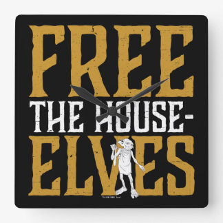 Harry Potter | Free The House Elves Wall Clocks